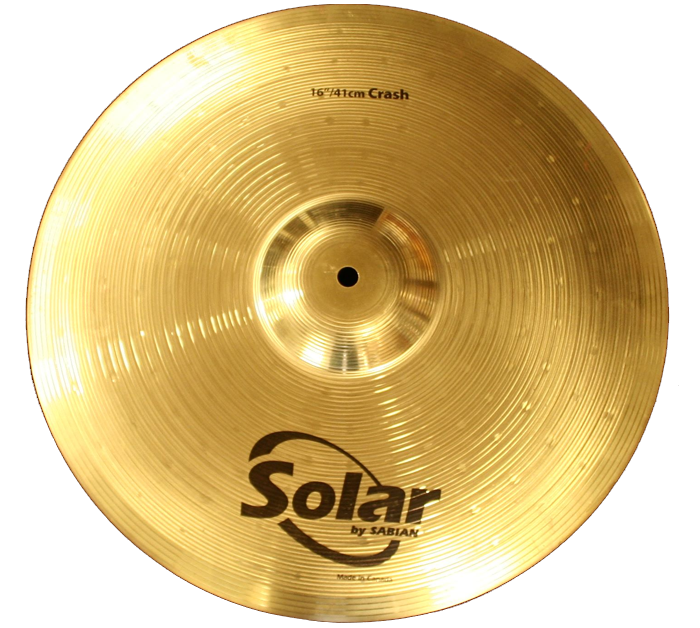 Sabian 16 SOLAR CRASH